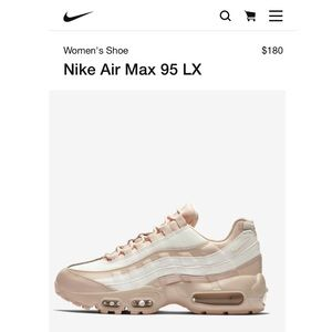 Nike Air Max 95 LX in Guava Ice